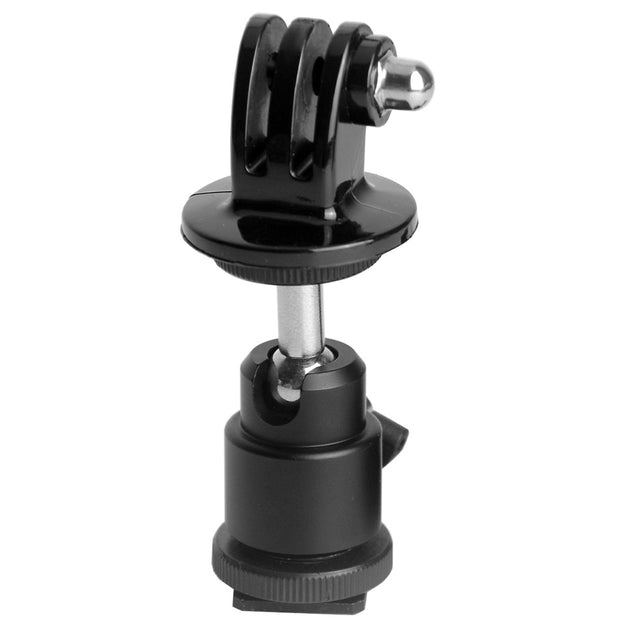 Coupcou.com: Fat Cat DSLR Ball Head Hot Shoe Adapter Mount for GoPro