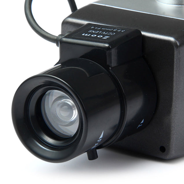 Coupcou.com: Battery Powered Practical Economic Dummy CCTV Security Camera with Activation Light