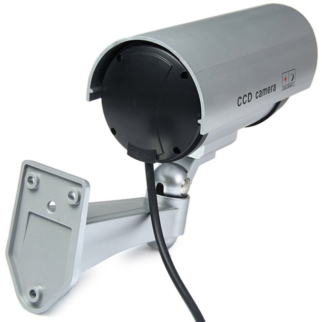 Coupcou.com: Multifunctional Dummy CCTV Security CCD IR Camera with Red LED Blinking Light for Indoor / Outdoor Surveillance