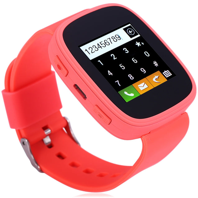Coupcou.com: KENXINDA S7 1.54 inch Smartwatch Phone MTK6261 Bluetooth Sound Recorder Heart Rate Measurement Function