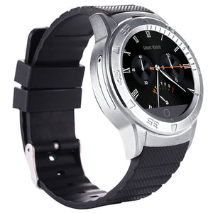 Coupcou.com: XINGDOZ G601 1.22 inch Round Dial Smartwatch Phone MTK6260 IPS Screen Pedometer Sedentary Reminder Heart Rate Monitor Bluetooth 3.0 / 4.0