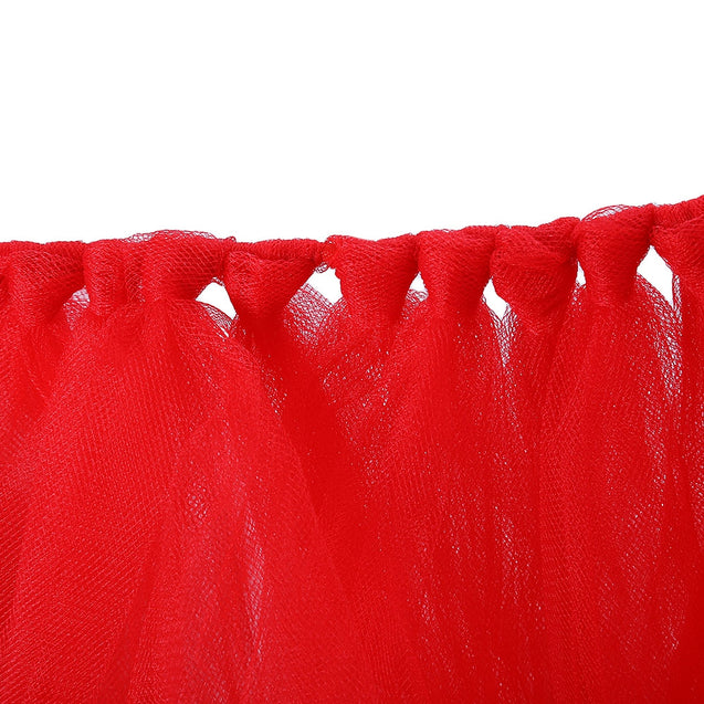 Coupcou.com: Handmade Durable Tulle Table Skirt for Birthday Party / Wedding / Baby Shower / Home Decoration