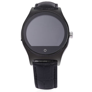 Coupcou.com: RWATCH R11 MTK2501 Smart Bluetooth Watch IP67 Infrared Remote Controller Camera Remote Heart Rate Monitor Genuine Leather Band