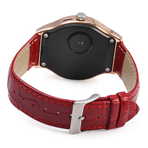 Coupcou.com: RWATCH R11S MTK2501 Smart Bluetooth Watch IP67 Camera Remote Heart Rate Monitor Genuine Leather Band