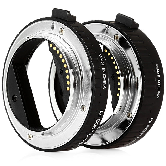 Coupcou.com: Viltrox DG - NEX 10MM 16MM AF Auto Focus Macro Extension Tube for Sony E-mount A7 NEX7 A5000 A7R