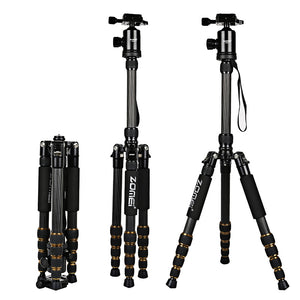 Coupcou.com: Zomei Z699C 59.4 Inches Professional Camera Video Carbon Fiber Tripod