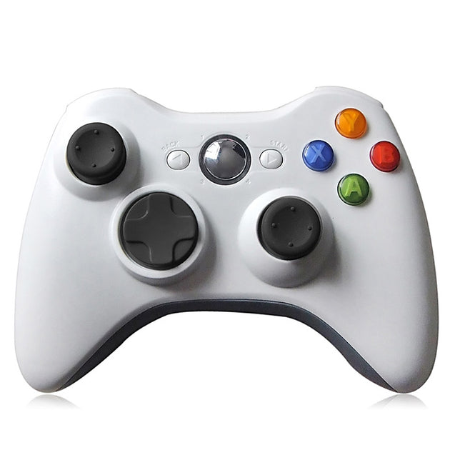 Coupcou.com: 2.4GHz Wireless Game Controller Gamepad for Microsoft Xbox 360 Support Three-level Vibration