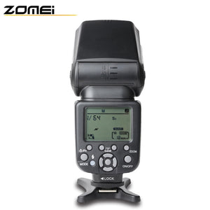 Coupcou.com: Zomei 860T Professional Macro Speedlight Flashlight LCD Screen for Canon Nikon