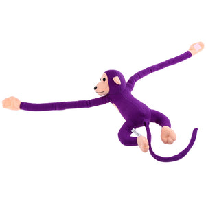 Coupcou.com: Long Arm Hanging Monkey Plush Toy Stuffed Animal Doll