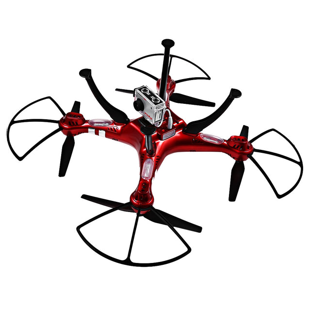 Coupcou.com: Syma X8HG 8MP Camera 2.4GHz 4CH 6 Axis Gyro RC Quadcopter Barometer Set Height