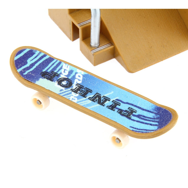 Coupcou.com: 5pcs Skate Park Kit Ramp Parts for Tech Deck Finger Board Ultimate Sport Training Props