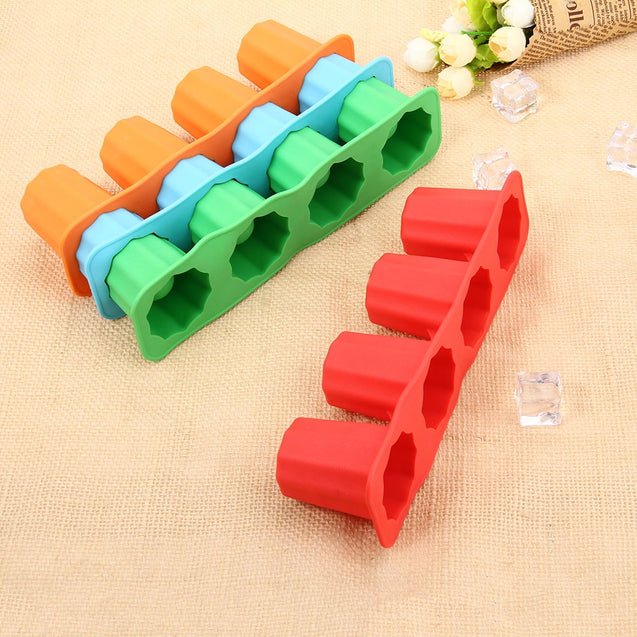 Coupcou.com: LHS Silicone DIY Ice Mold Cool Drinks Chocolate Soap Making Tool with 4 Grids