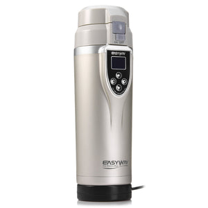 Coupcou.com: FCC-350LC Adjustable Temperature Car Boiling Mug Electric Kettle Boiling Vehicle Thermos