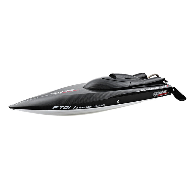 Coupcou.com: FeiLun FT011 2.4G RC Racing Boat Brushless Motor 55km/h Built-in Water Cooling System