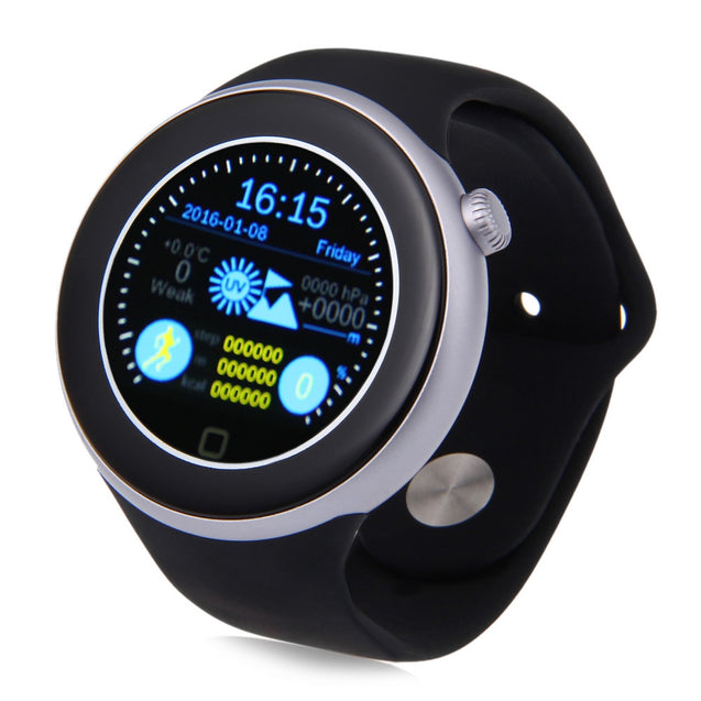 Coupcou.com: AIWEAR C1 Dual Bluetooth Heart Rate Track Smart Watch with Siri Gesture Control Flashlight Calculator