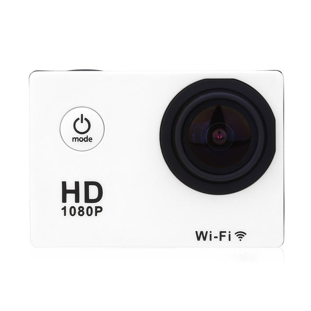 Coupcou.com: W8 1080P 30fps Full HD WiFi H.264 1.5 inches LCD Display 30M Waterproof Action Camera Sport DV with Sunplus 6330 Chipset and OV2710 Image Sensor 170 Degree Wide View Angle