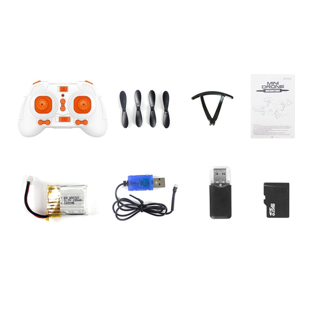 Coupcou.com: FQ777 951C 2.4G 4CH 6-Axis Gyro 0.3MP Camera RTF RC Quadcopter Aircraft Toy