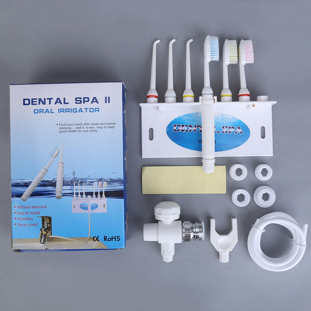 Coupcou.com: Oral Irrigator SPA Water Jet Dental Flosser Teeth Care Toothbrush Set