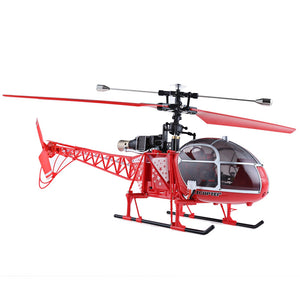 Coupcou.com: WLtoys V915 Lama 4 Channel 2.4G 6 Axis Gyro RC Helicopter Single Propeller RTF