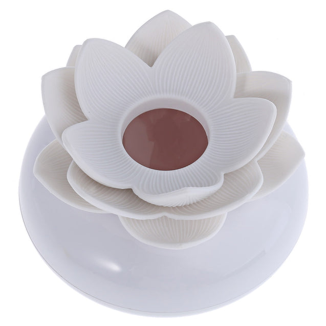 Coupcou.com: Lotus Cottonbuds Box Toothpicks Holder with Transparent Cover