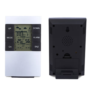 Coupcou.com: TS - H146 433MHz Wireless Weather Station Alarm Clock Indoor Outdoor Thermometer Humidity