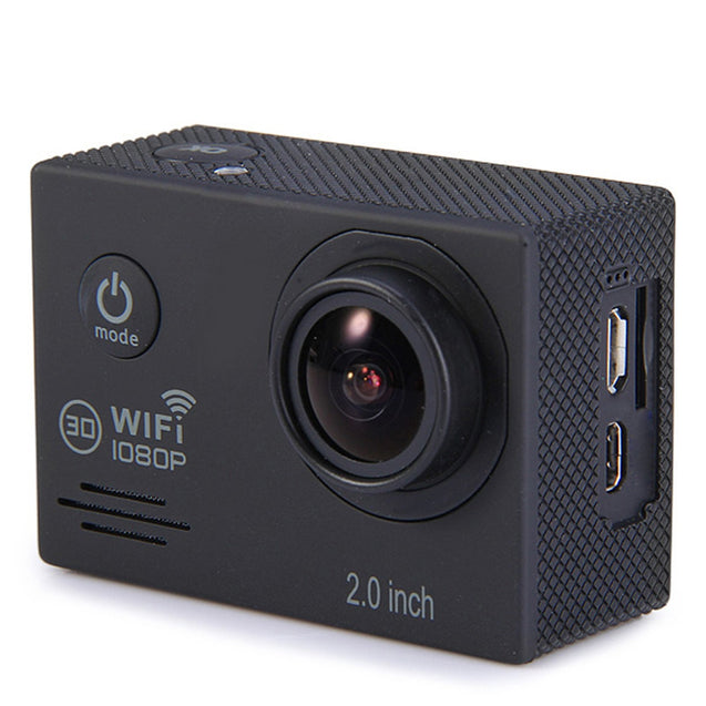 Coupcou.com: SJ7000 2.0 Inch Screen 1080P WiFi Novatek 96655 Chipset Sports Video Camera Camcorder with 170 Degree Wide Angle Lens Support 32GB TF Card