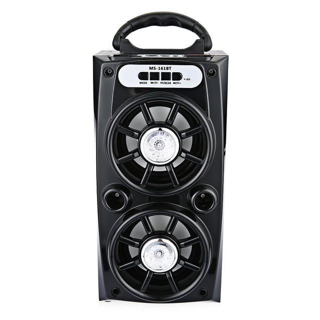 Coupcou.com: MS - 161BT Portable High Power Output Multimedia FM Radio Wireless Bluetooth Speaker