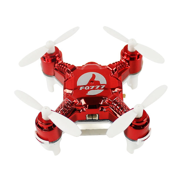 Coupcou.com: FQ777 124C 2.4GHz 4CH 6 Axis Gyro Mini Remote Control Racing Quadcopter with 2.0MP HD Camera RTF
