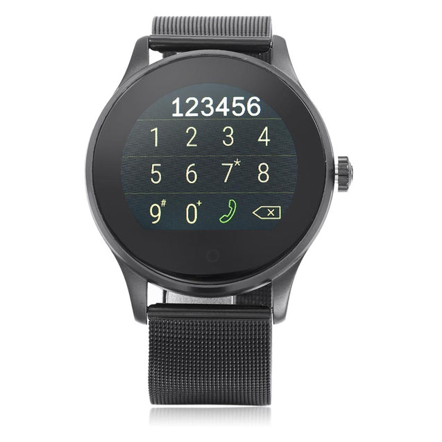 Coupcou.com: K88H Japan and Korea Version MTK2502 Bluetooth 4.0 Smart Watch Heart Rate Track Wristwatch