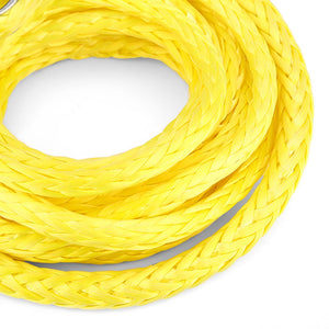 Coupcou.com: Car Winch Rope 3/16 inch 10 feet Standard Breaking Strength 22.5cm Protective Sheath