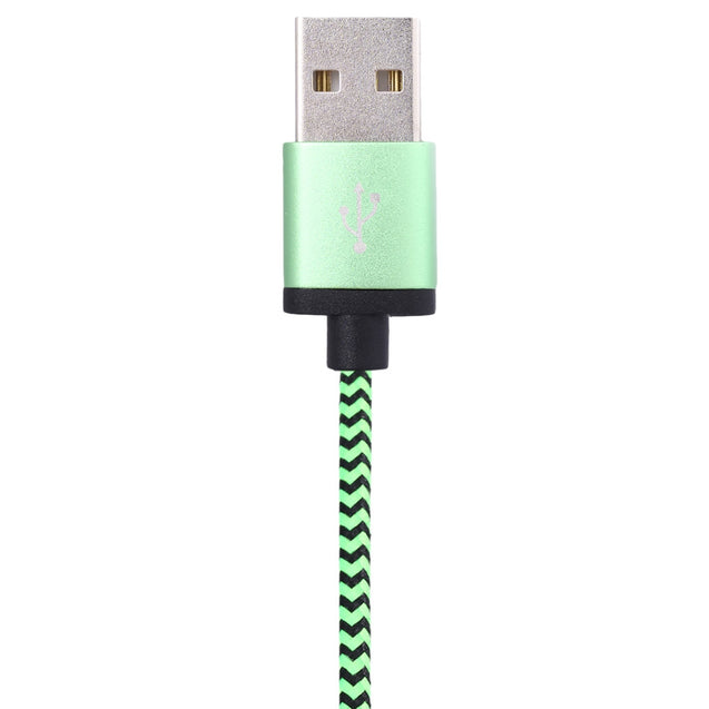 Coupcou.com: USB 3.1 to Type-C Nylon Braided Charging Cable 1M