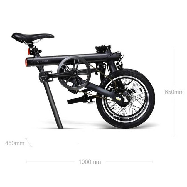 Coupcou.com: Original Xiaomi QiCYCLE - EF1 Smart Folding Bike Bluetooth 4.0 Bicycle Support for APP