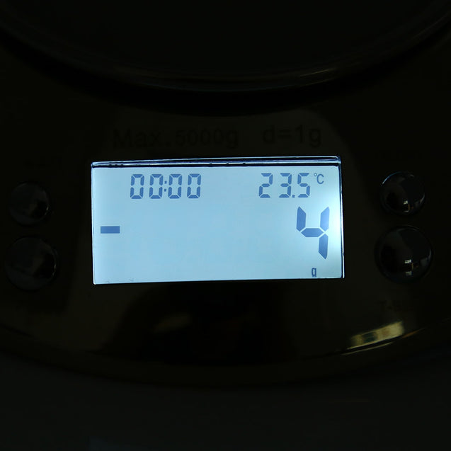 Coupcou.com: 5kg 1g Stainless Digital Electronic Kitchen Scale with Alarm Timer Temperature Sensor