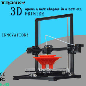 Coupcou.com: Tronxy X3 High Accuracy LCD Screen Technical 3D Printer Kit Self Assembly