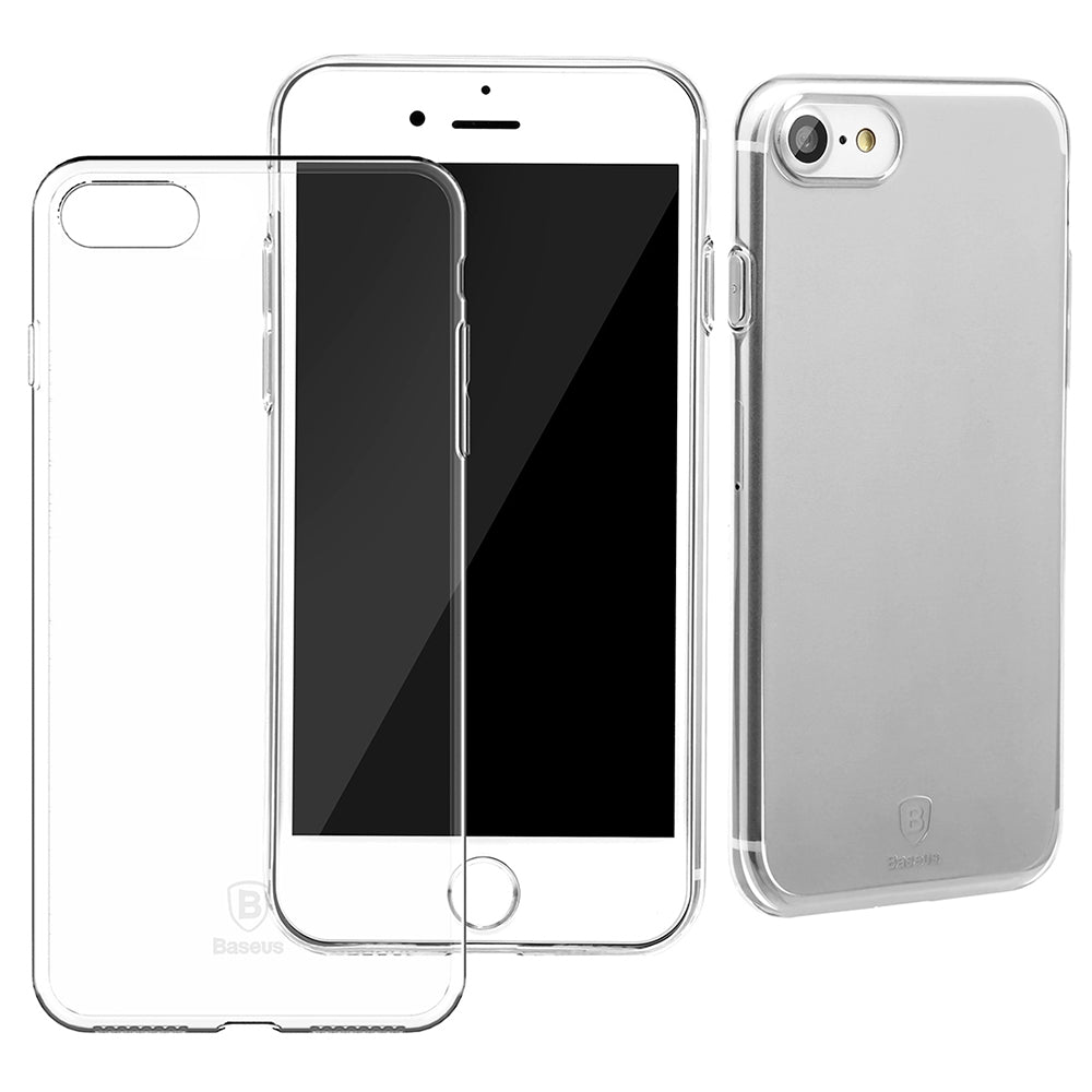 Baseus 4.7 inch Ultra Slim Simple Protective Comfortable Mobile Phone Case Protector Cover for i...TRANSPARENT