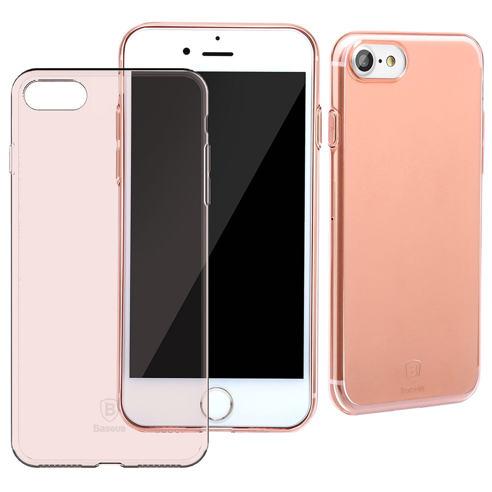 Baseus 4.7 inch Ultra Slim Simple Protective Comfortable Mobile Phone Case Protector Cover for i...ROSE GOLD