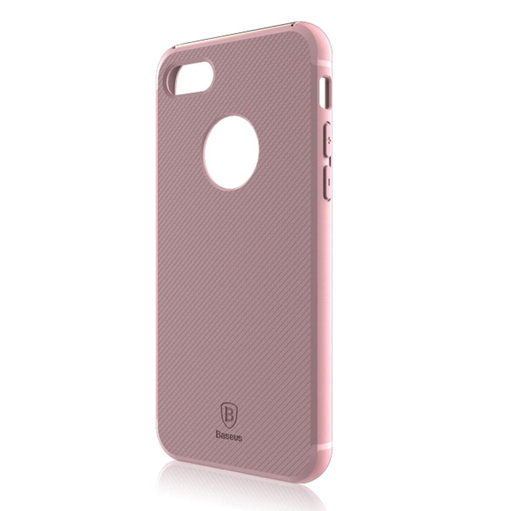 Baseus Hermit Bracket Case Convenience Mobile Phone Shell for iPhone 7 Plus 5.5 inchPINK