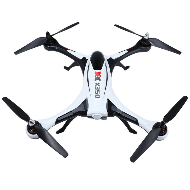Coupcou.com: XK X350 Air Dancer 4CH 2.4GHz 6-Axis Gyro 3D / 6G Mode Remote Control Quadcopter RTF
