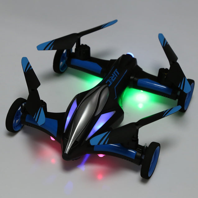 Coupcou.com: JJRC H23 2.4G RC Quadcopter Land / Sky 2 in 1 6 Axis Gyro UFO Headless Mode / One Key Return Feature