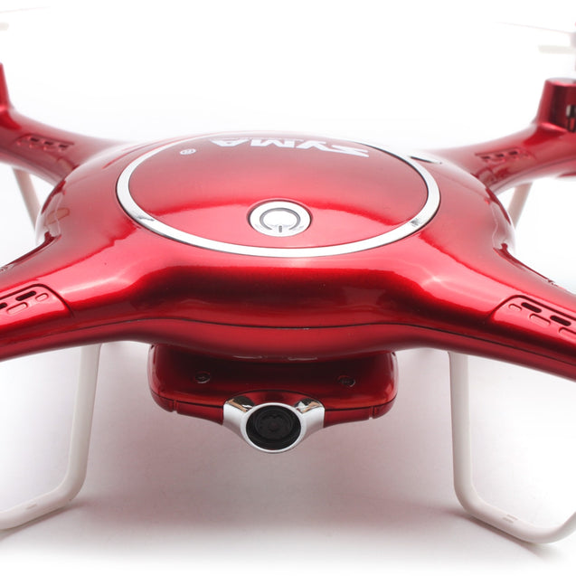 Coupcou.com: SYMA X5UW WiFi FPV Control HD CAM 2.4G 4CH 6-axis-gyro RC Quadcopter Air Press Height Hold