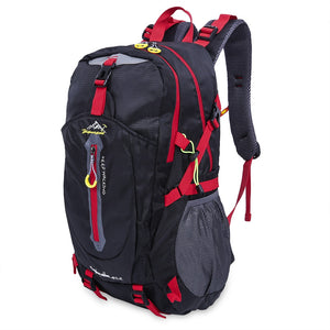 Coupcou.com: Unisex Patchwork Color Block Water Resistant Portable Bag Travel Outdoor Backpack