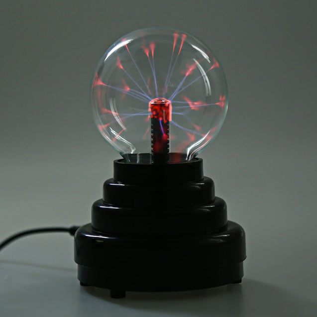 Coupcou.com: 3 Inch Touch Sensitive LED Plasma Globe Ball Lamp Night Light