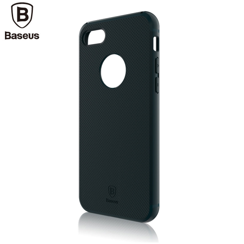 Baseus Hermit Bracket Case Convenience Mobile Phone Shell for iPhone 7 Plus 5.5 inchBLACKISH GREEN