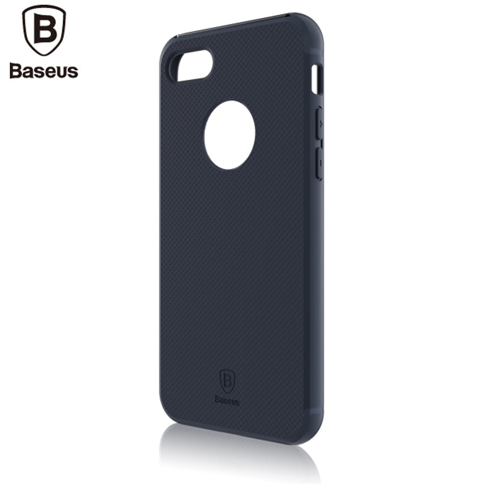 Baseus Hermit Bracket Case Convenience Mobile Phone Shell for iPhone 7 Plus 5.5 inchBLUE