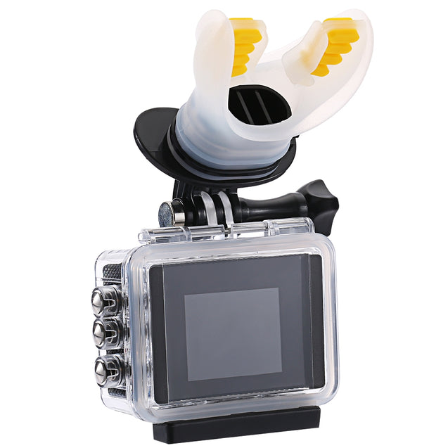 Coupcou.com: Mouth Teeth Mouthpiece Style Surfing Shooting Bracket for Action Camera
