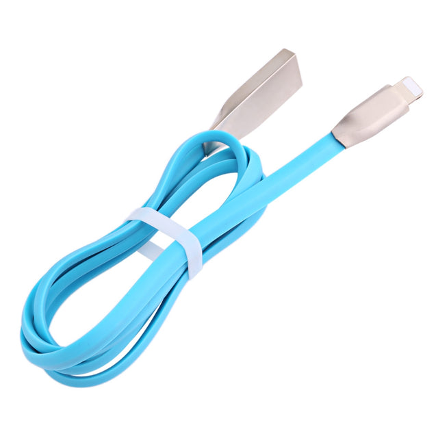 Coupcou.com: 8 Pin Aluminum Alloy Copper Core Transfer Data Synchronization Charging Cord 0.9M