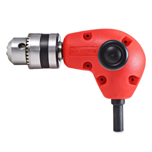 Coupcou.com: Right Angle Drill Attachment Three Jaw Chuck Key Adapter Handle Accessory Tool