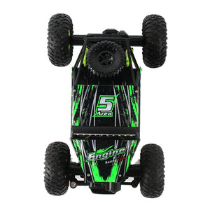 Coupcou.com: WLtoys 18428 - B 1:18 4WD RC Climbing Car 2.4GHz 4CH 9km/h Proportional Controlled All Terrain Vehicle