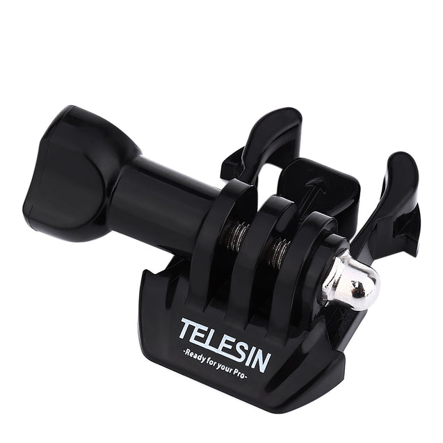 Coupcou.com: TELESIN Sports Camera Flat Curved Helmet Mount Accessory for Sony AS15 / 30