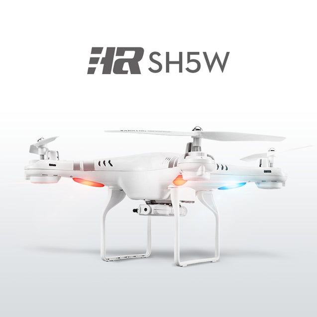 Coupcou.com: SH5W 2.0MP Camera WiFi FPV 2.4G 4CH 6-axis Gyro RC Quadcopter RTF